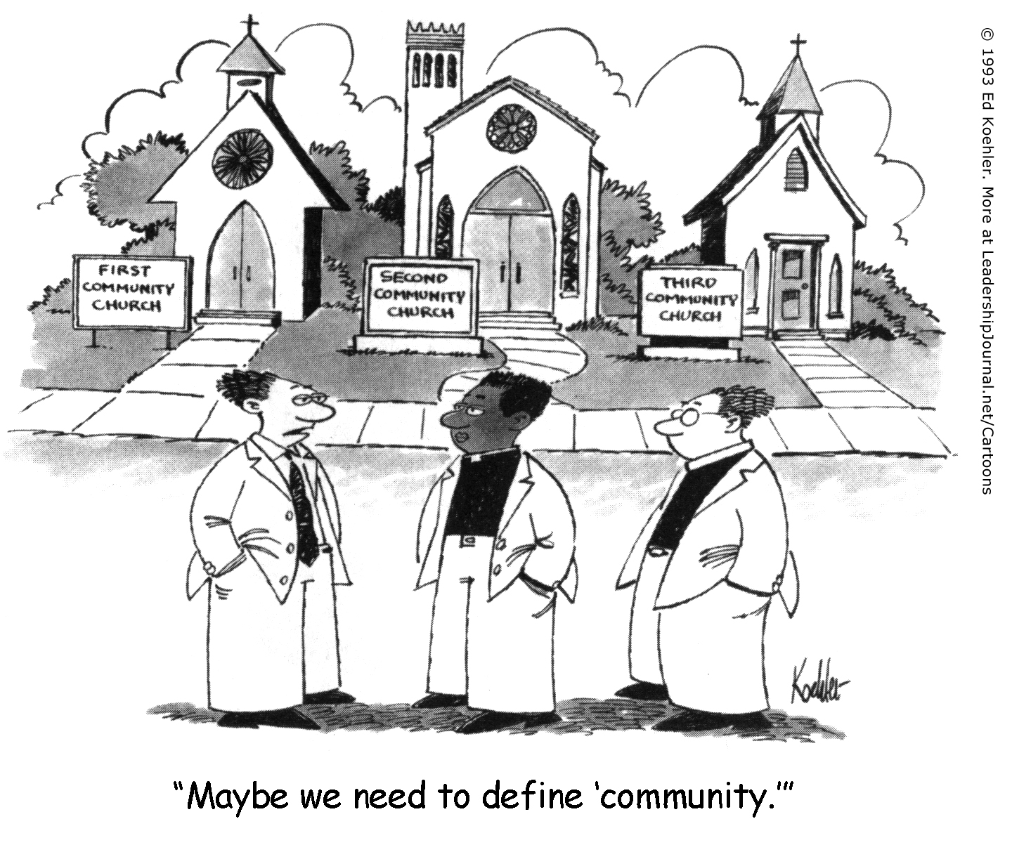 No Community Among Community Churches | CT Pastors ...