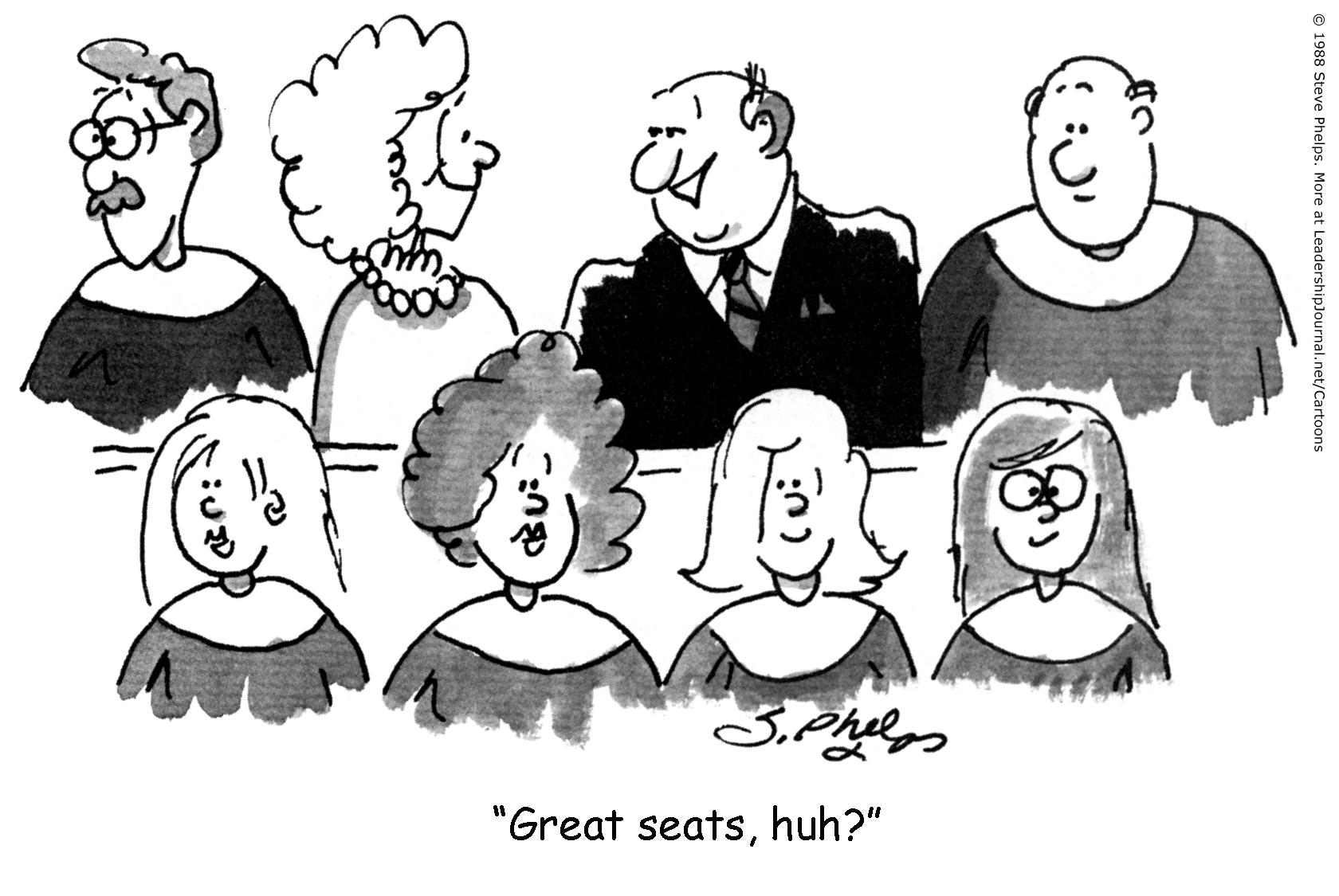 Choir Members Accidental Choir Members