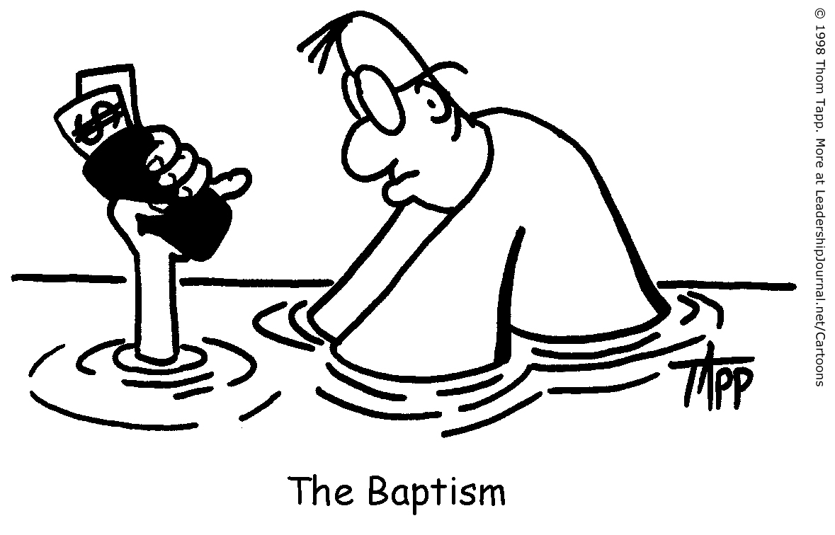 baptize everything but the wallet ct pastors
